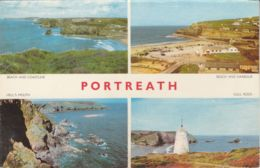 Postcard - Portreath Four Views Card No..kport107 Used Dated On Th Rear Sept 5th 1967  Very Good - Cartes Postales