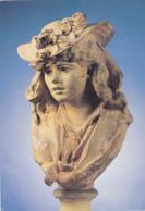 Postcard - Art - Auguste Rodin (1840-1917) - Femme Au Chapeau Fleuri - Card No. RD. 1817 - VG - Cartes Postales