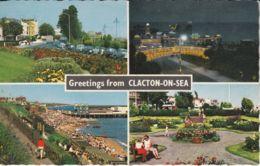 Postcard - Clacton - On - Sea Four Views - Card No..k934 Unused Very Good - Cartes Postales