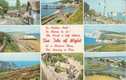 Postcard - Isle Of Wight Eight Views Card No.kiw703 Unused Very Good - Cartes Postales