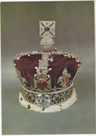 Postcard - Imperial State Crown (1838) Designed For Queen Victoria - Card No. C.J.2 - VG - Cartes Postales