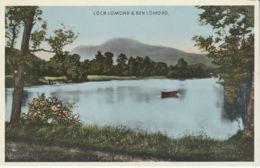 Postcard - Loch Lomond And Ben Lomond No Card No.. Unused Very Good - Cartes Postales