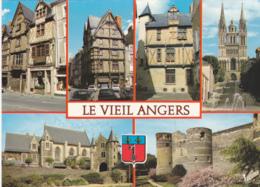 Postcard - Le Viel Angers - 6 Views - Card No. 3385 - VG - Cartes Postales