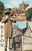 Postcard - Ripon Two Views - Card No..plx199+38 Unused Very Good - Cartes Postales