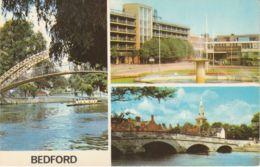 Postcard - Bedford Three Views - Card No..plc14611 Unused Very Good - Cartes Postales