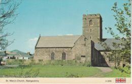 Postcard - Church - St. Maty's Church, Abergavenny Card No..a3209 Unused Very Good - Supplies And Equipment