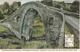 Postcard - Art - C John Taylor - The Bridge Over The Atlantic No Card No.. Unused Very Good - Cartes Postales