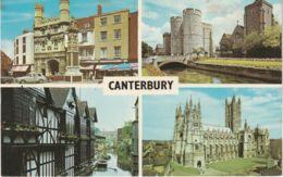Postcard - Canterbury Four Views  - Card No..plc4515 Unused Very Good - Cartes Postales
