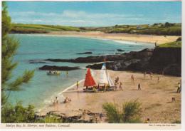 Postcard - Harlyn Bay, St. Merryn, Near Padstow, Cornwall - Card No. 2DC 501 - VG - Cartes Postales