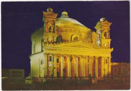 Postcard - Mosta Church, Malta - Card No. P72198 - VG - Cartes Postales
