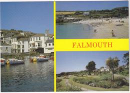 Postcard - Falmouth - 3 Views - Card No. R81218 - VG - Cartes Postales