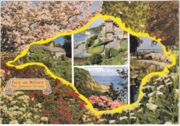 Postcard - Isle Of Wight - 4 Views - Card No. CKIW 1676 - VG - Cartes Postales