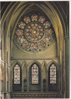 Postcard - Truro Cathedral - The South Transept Showing The Rose Window - Card No. C 5432X - VG - Cartes Postales