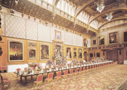 Postcard - Windsor Castle - The Waterloo Chamber - Card No. WC14 - VG - Cartes Postales