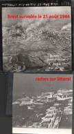 4 Photos Originales Reconnaissance 542 Squadron RAF Brest Août 1944 WWII 1939-1945 - 1939-45