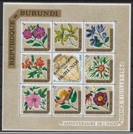 BURUNDI 1966 Flowers MNH - Altri