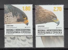 BOSNIA REPUBLIKA SRPSKA 2019 MNH** 782-83 Europa - National Birds - Bosnien-Herzegowina