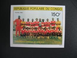 Timbre ND non Dentelé Neuf ** MNH - Imperf   Handball Congo  N° 612 - Balonmano