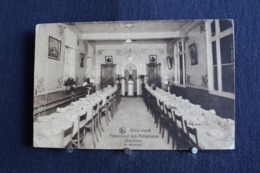 C/O - 325 / Limbourg  Diepenbeek  -  Pensionnat Des Religieuses Ursulines. Un Réfecoire  / Circulé 19? - Diepenbeek