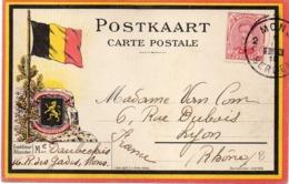 BELGIQUE : GUERRE 14/18 . CP . 09/04/1919 . - 1915-1920 Albert I