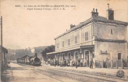 ST DIDIER LA SEAUVE - La Gare - (ligne Annonay-Firminy) - Autres Communes