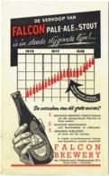 Publicité Bière.  FALCON Pale-Ale En Stout. Amsterdam. Van Vollenhoven's Bierbrouwerij. - Publicités