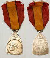 Militaria_201_Médaille Commémorative De La Guerre 14-18_WW1 [D] - Belgio