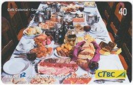BRASIL K-081 Magnetic CTBC - Food, Traditional Meal - Used - Brésil