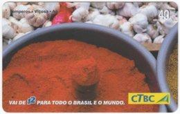 BRASIL K-082 Magnetic CTBC - Food, Traditional Meal - Used - Brésil