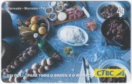 BRASIL K-083 Magnetic CTBC - Food, Traditional Meal - Used - Brésil