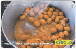 BRASIL K-084 Magnetic CTBC - Food, Traditional Meal - Used - Brésil