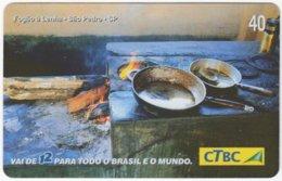 BRASIL K-085 Magnetic CTBC - Food, Traditional Meal - Used - Brésil