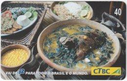 BRASIL K-087 Magnetic CTBC - Food, Traditional Meal - Used - Brésil
