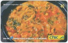 BRASIL K-088 Magnetic CTBC - Food, Traditional Meal - Used - Brésil