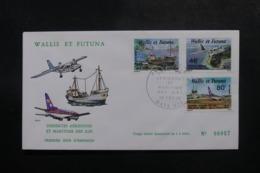 WALLIS & FUTUNA - Enveloppe FDC En 1979 - Dessertes Aériennes Et Maritime Des Îles - L 47821 - FDC