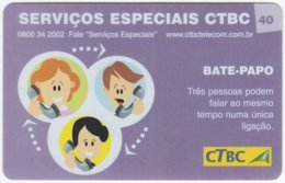 BRASIL K-094 Magnetic CTBC - Cartoon, Communication, Telephone - Used - Brésil