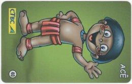 BRASIL K-102 Magnetic CTBC - Cartoon - Used - Brésil