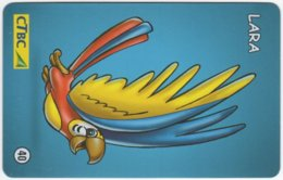 BRASIL K-106 Magnetic CTBC - Cartoon - Used - Brésil