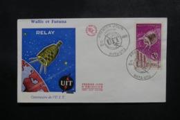 WALLIS & FUTUNA - Enveloppe FDC En 1965 - Satellite - L 47822 - FDC