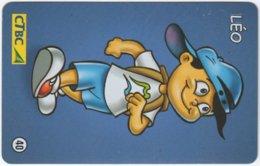 BRASIL K-107 Magnetic CTBC - Cartoon - Used - Brésil