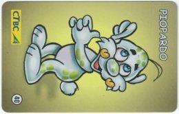 BRASIL K-109 Magnetic CTBC - Cartoon - Used - Brésil