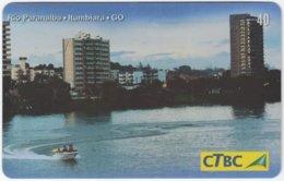 BRASIL K-113 Magnetic CTBC - View, Town - Used - Brésil