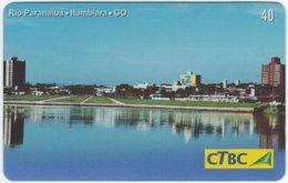 BRASIL K-114 Magnetic CTBC - View, Town - Used - Brésil