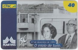 BRASIL K-115 Magnetic CTBC - Historic Photo - Used - Brésil