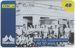 BRASIL K-116 Magnetic CTBC - Historic Photo - Used - Brésil