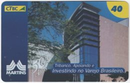 BRASIL K-117 Magnetic CTBC - Architecture, Building - Used - Brésil