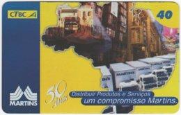 BRASIL K-118 Magnetic CTBC - Traffic, Truck - Used - Brésil