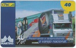 BRASIL K-119 Magnetic CTBC - Traffic, Truck - Used - Brésil