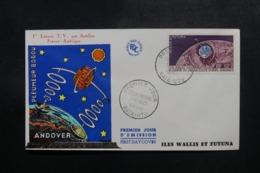 WALLIS & FUTUNA - Enveloppe FDC En 1962 - Satellite - L 47823 - FDC