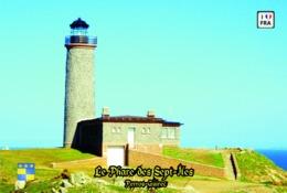 Set 6 Cartes Postales, Phares, Lighthouses Of Europe, France, Perros-Guirec, Le Phare De Sept-Iles - Leuchttürme